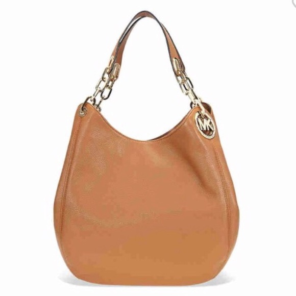 a728680e60b4 Michael Kors Bags | Fulton Leather Shoulder Bag Acorn | Poshmark